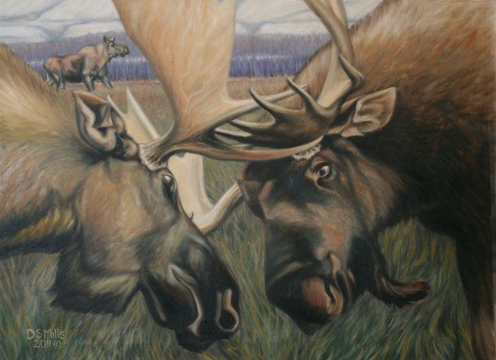Locked Up - Dan Mills Art