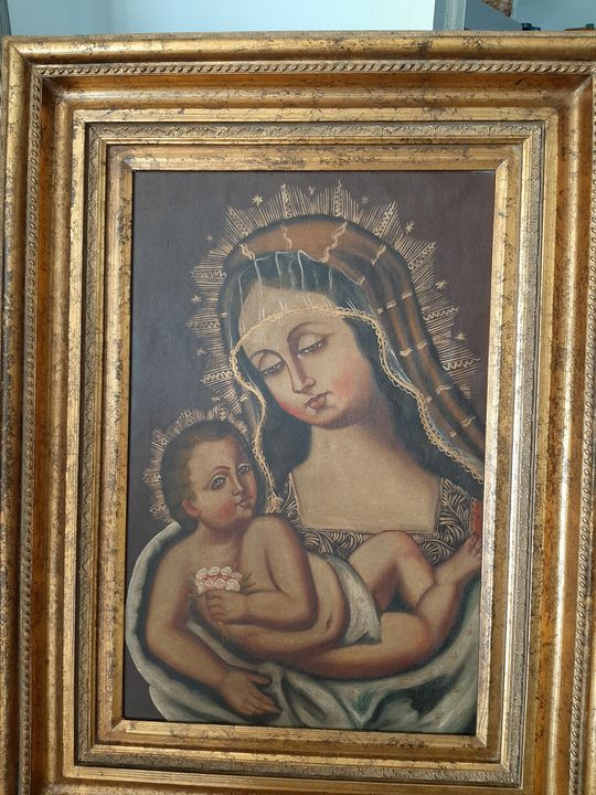 Vintage Mary and Baby Jesus - Donna Colwell