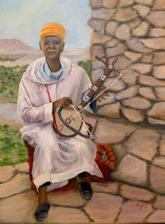 Moroccan Man - Sajco Art