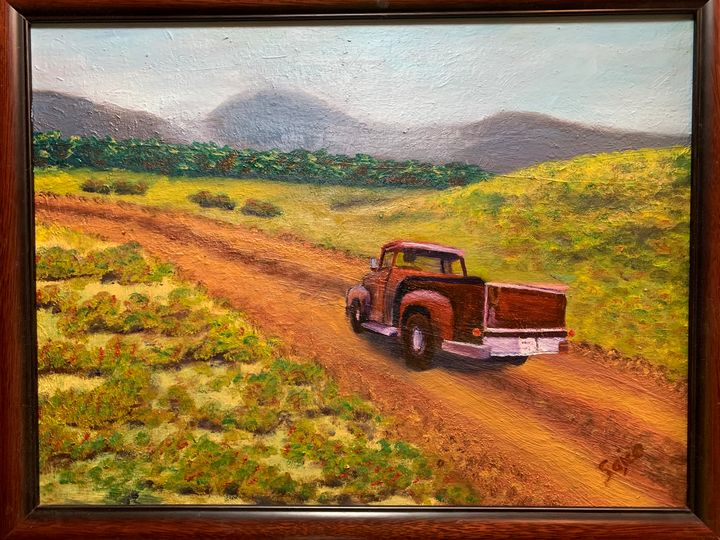 Road to Nowhere - Sajco Art