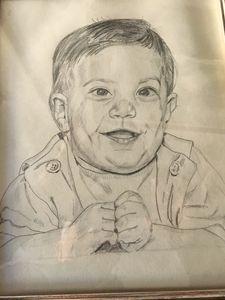 Sketch of my son John