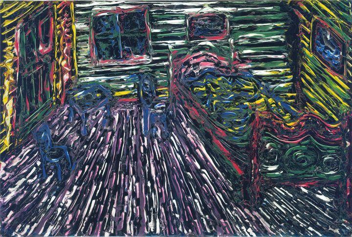 van goghs bedroom - rumplefish