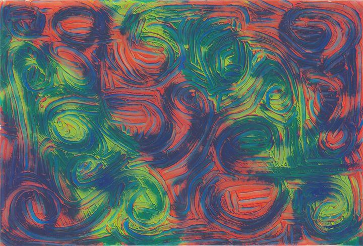 swirl of color - rumplefish