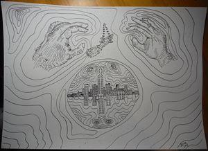 Grasping Visions Beyond - Darkvine Art