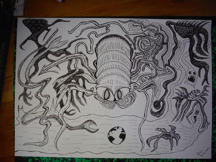 """""""Fermi Anxiety"""" or """"Fermi Haunting"""" - Darkvine Art"""