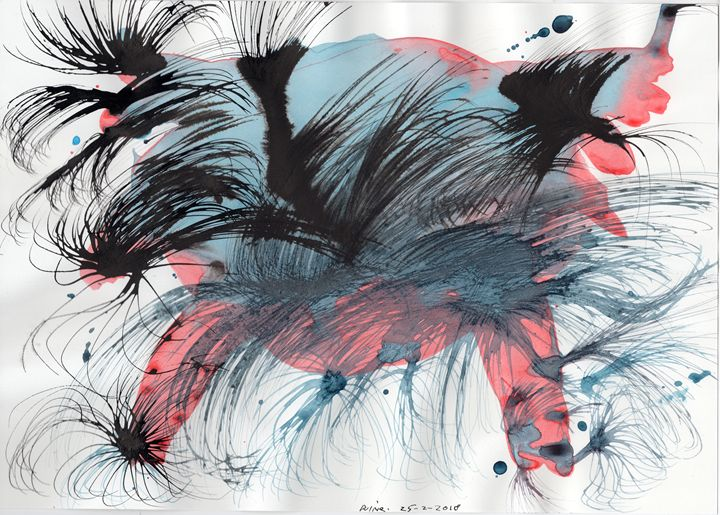 Beautiful dreams horrible nightmares - Darkvine Art
