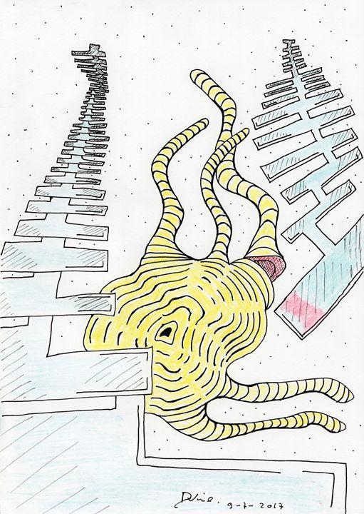 Deep Space Tentacle Cut. - Darkvine Art