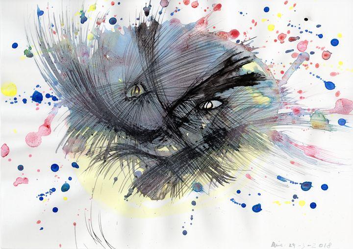Hostile Inner Entity. - Darkvine Art