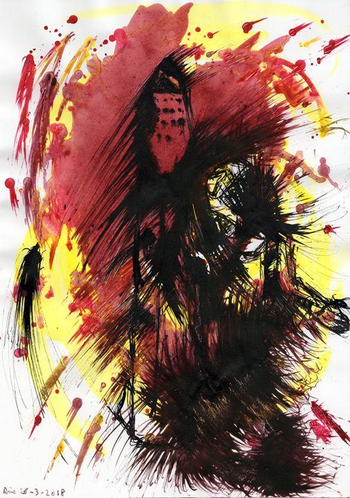 Thrust To Mars. - Darkvine Art