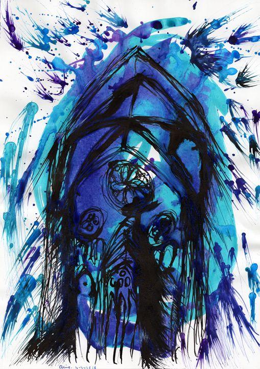 Bishop Moves - Darkvine Art