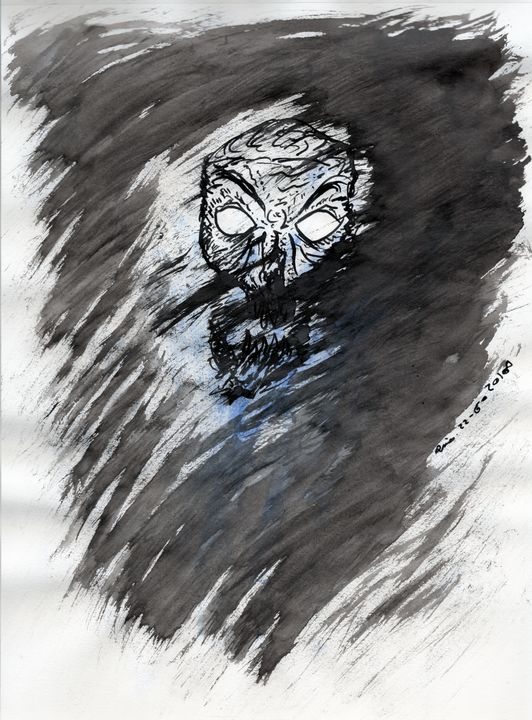 Blue And Rage - Darkvine Art