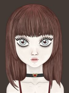 Dolly The Doll-faced Vampire Girl