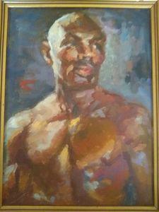 Boxer Marvelous Marvin Hagler