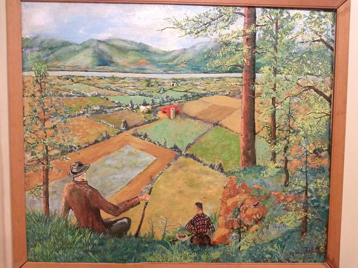 Farm Country By E.K. Williams - Drew Hayes' Art Gallery