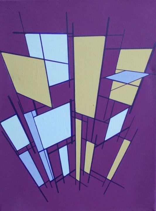 Purple/Yellow - Bethany Haworth