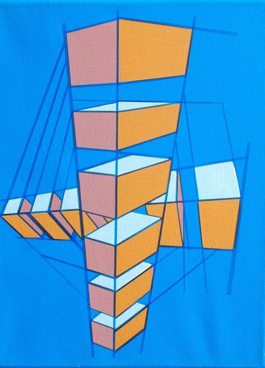 Blue/Orange - Bethany Haworth