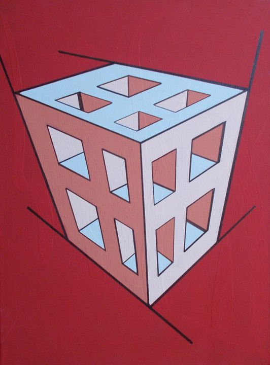 Red Cube - Bethany Haworth