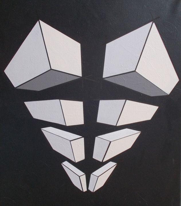 Black and White Cubes - Bethany Haworth