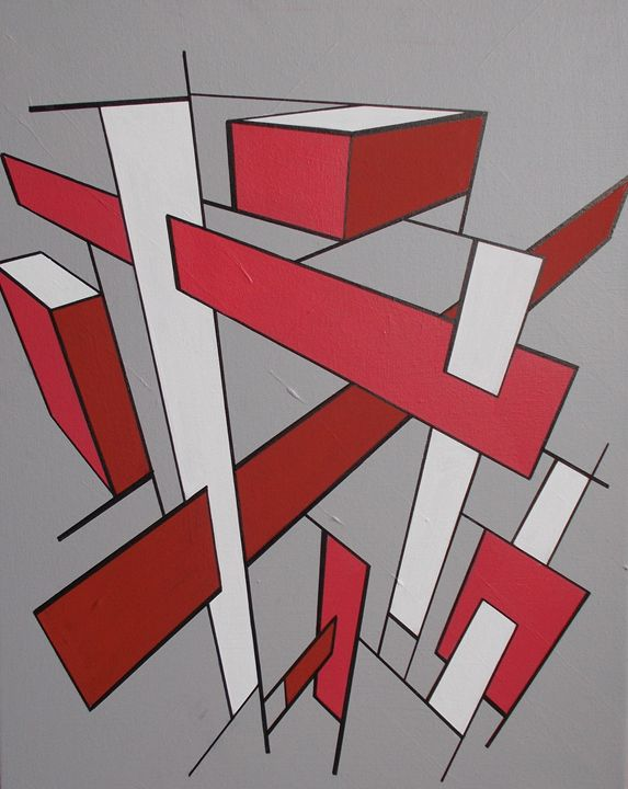 Red and White - Bethany Haworth