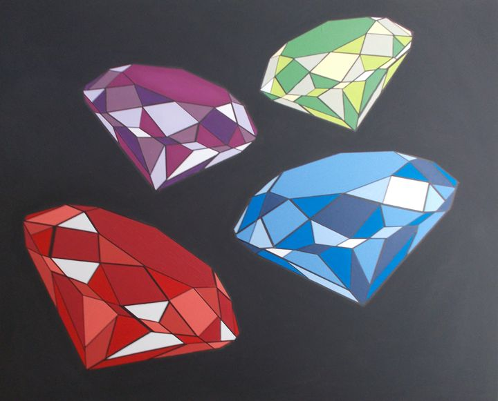 Coloured Diamonds - Bethany Haworth