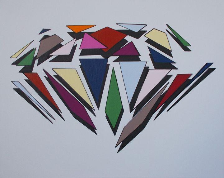 Colour Diamond Explosion - Bethany Haworth
