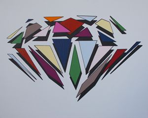 Colour Diamond Explosion
