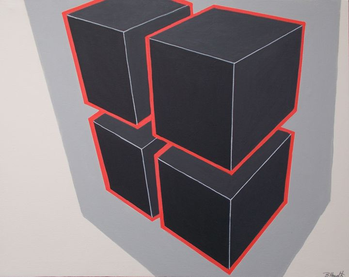 Black Cubes - Bethany Haworth