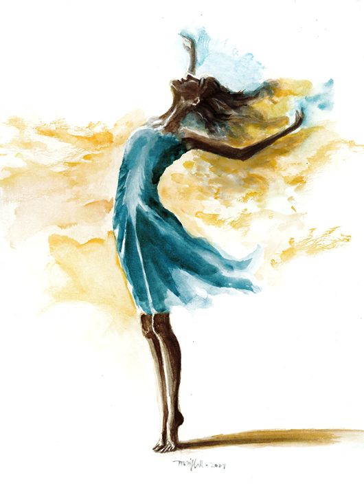 Dancing Before The Lord - Mai Hall Art