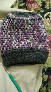 crochet beanie - SHARANITHA