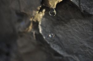Perfect water drop