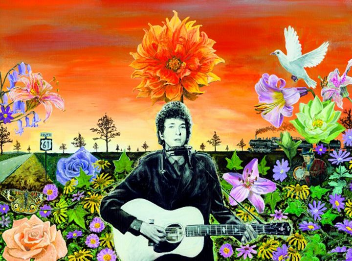 Bob Dylan - Stuart Hampton