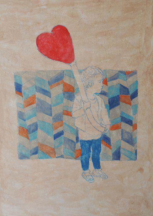 My red balloon - Federica Parone