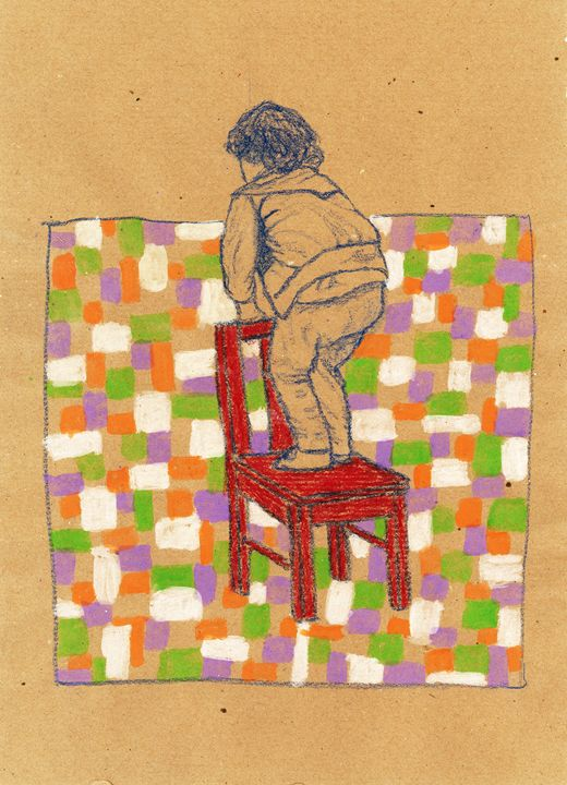 Playing with my little chair 1 - Federica Parone