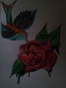 Bleeding Rose - Bron