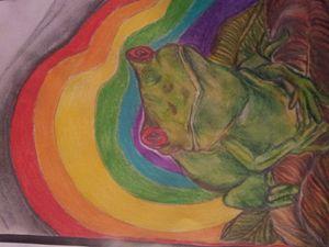 Mardigras Frog