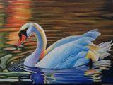 Original artwork. Oil on canvas.