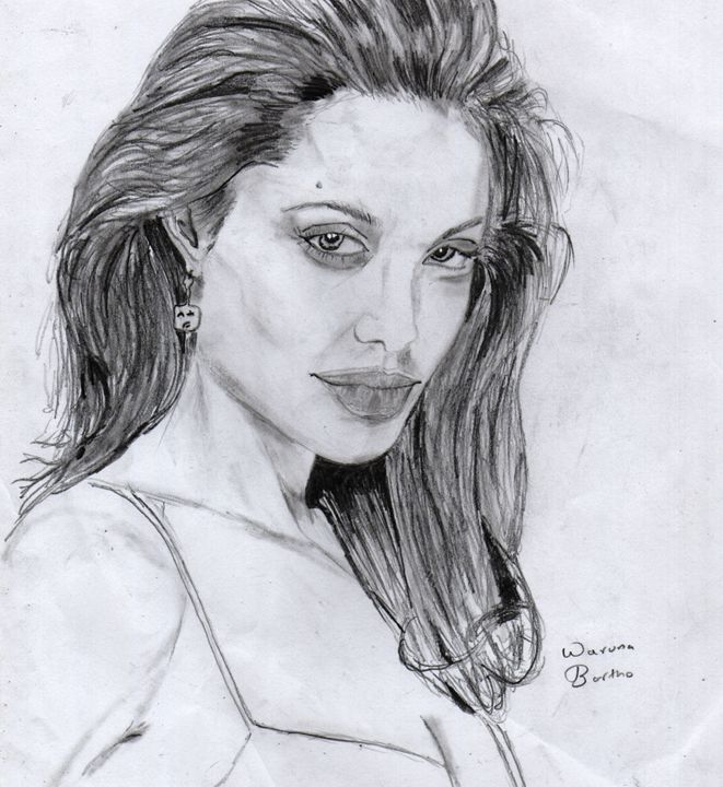 Angelina Jolie - waruna Bartho