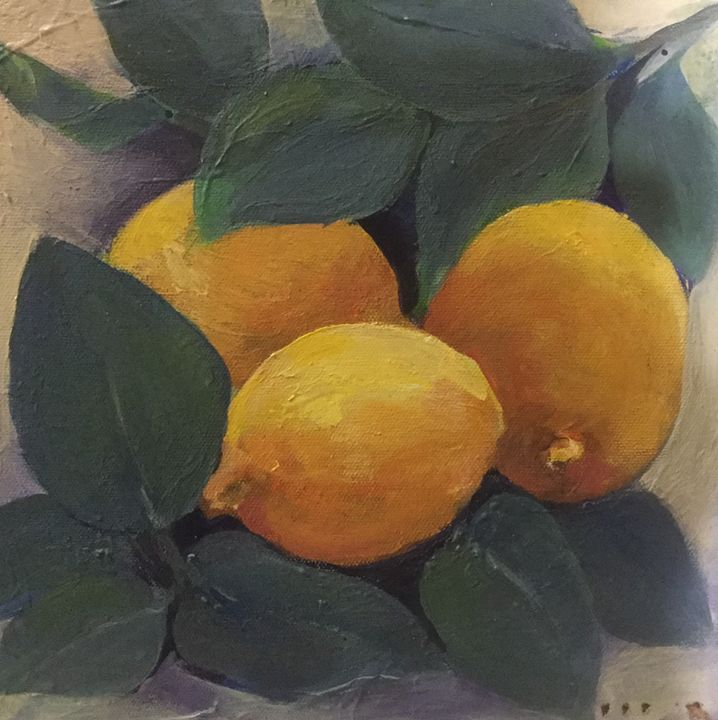 Three lemons - Farideh