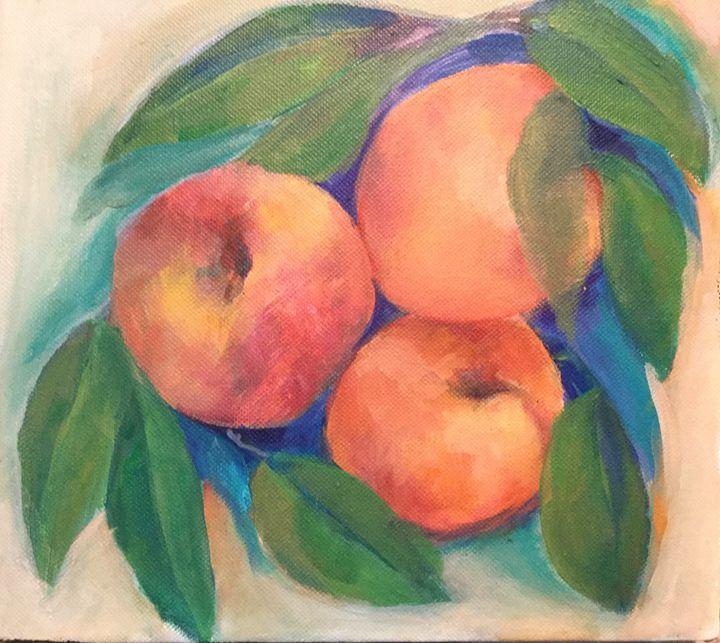 Three peaches - Farideh