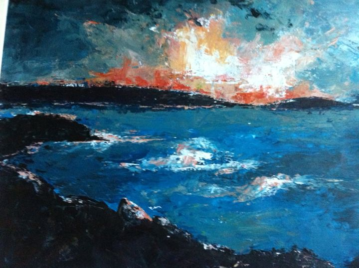 Storm Over Scilly - Tamsin Isaac