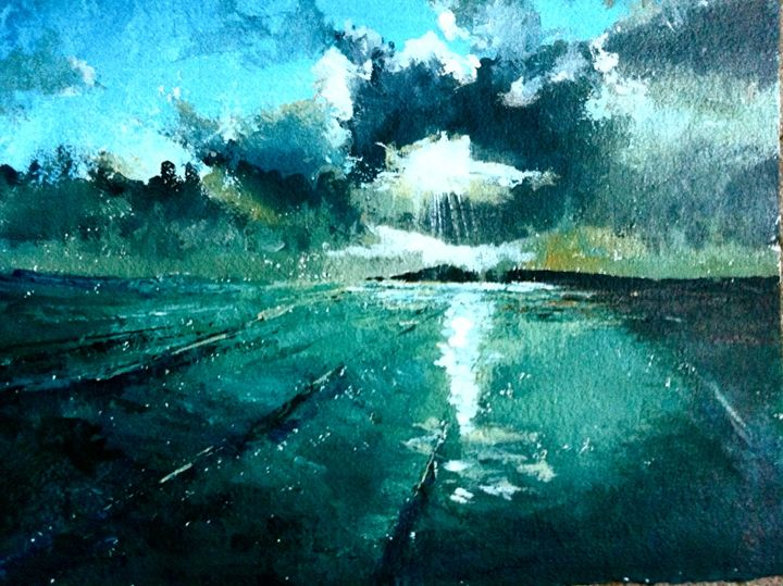 Cloud Over Bryher - Tamsin Isaac
