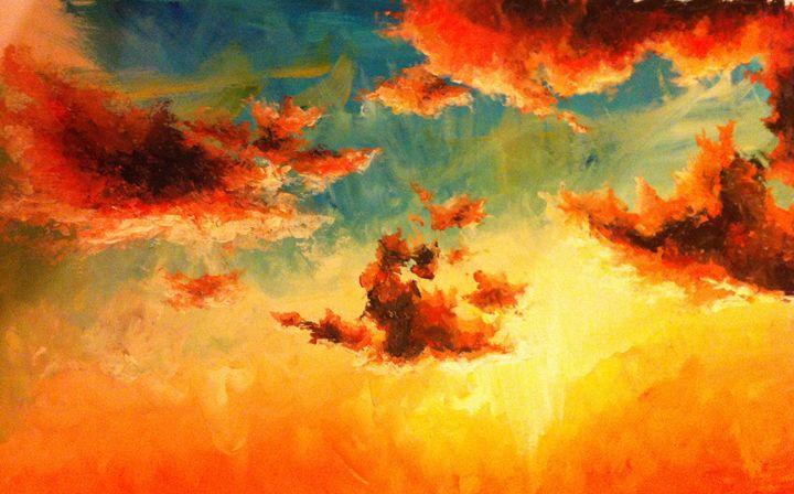 Cloud Study - Tamsin Isaac