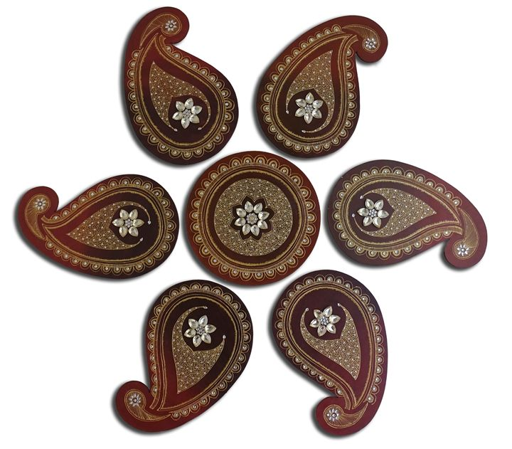 Paisley Handicraft for wall - my spectrum