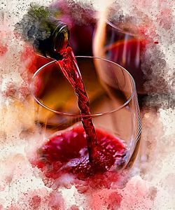 The Wine Pour - Karl Knox Images