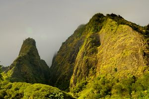 Iao Needle and Mountain