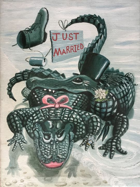 Just married - Charity 50%