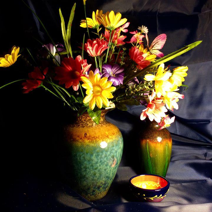 Flowers etc series - Ramya Oil Paintings