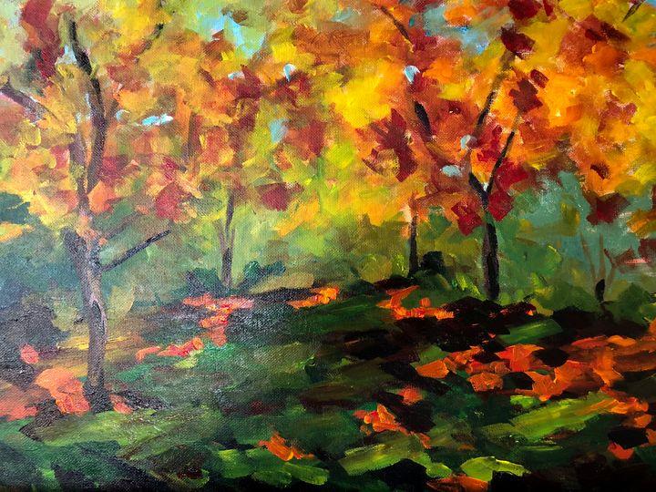 Fall - Ramya Oil Paintings