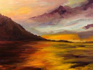 Streak of light - Ramya Oil Paintings