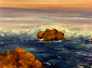 Carmel at sea